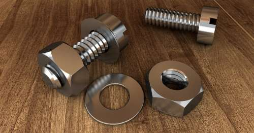 Screw Thread Technology Screw Nut Metal