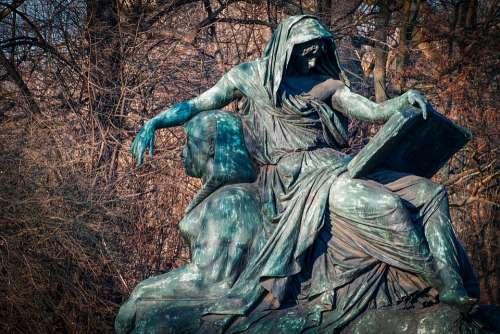 Sculpture Bronze Bronze Statue Figure Move Sphinx