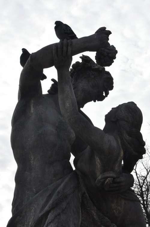 Sculpture Park Male Woman