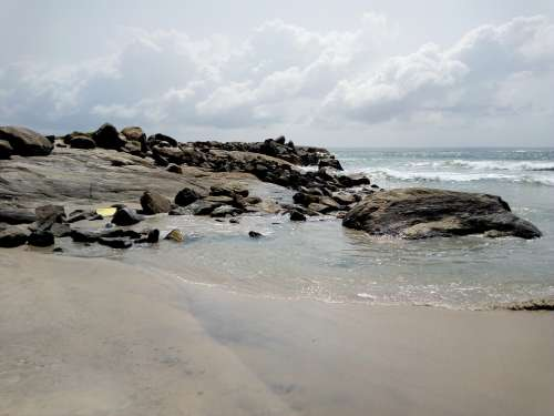 Sea Landscape Ocean Ivory Coast