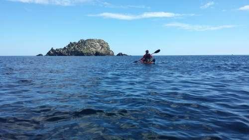 Sea Kayak Rock Kayaking Cornwall