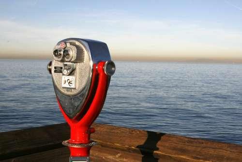 Sea Pier Telescope