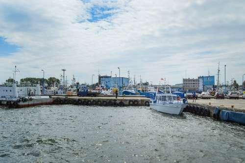 Sea Port Boats Ship Summer