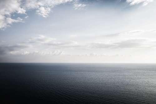 Sea Seascape Copyspace Calm Cloud Horizon Outdoor