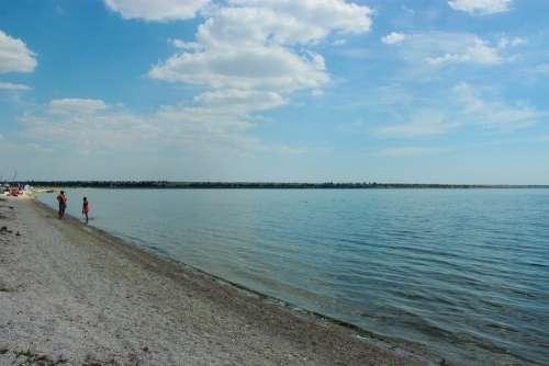 Sea Beach Send Nature Holidays Sky Water