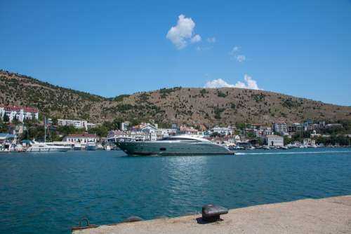 Sea Bay Yacht Coast Boat