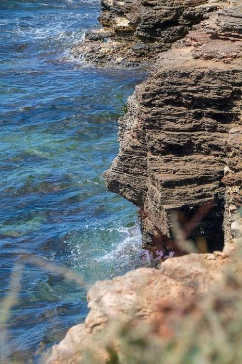 Sea Rocks Wave Ocean