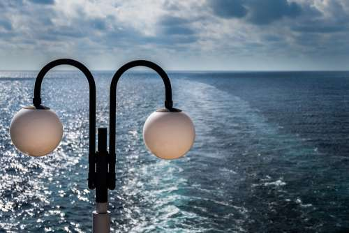 Sea Lamp Water Ocean Sky Travel Nature Nautical