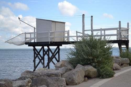 Sea Sky Ocean Clouds Landscape Cabin Net