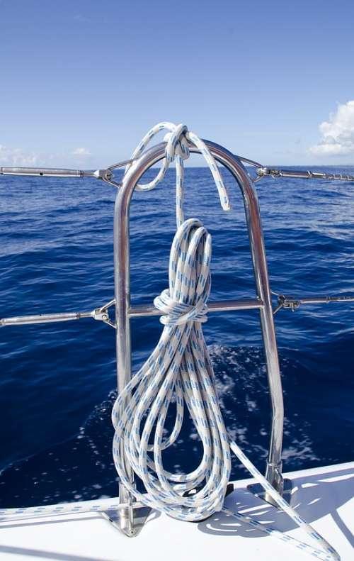 Sea Rope Boat Nautical Anchor Ship Knot Water