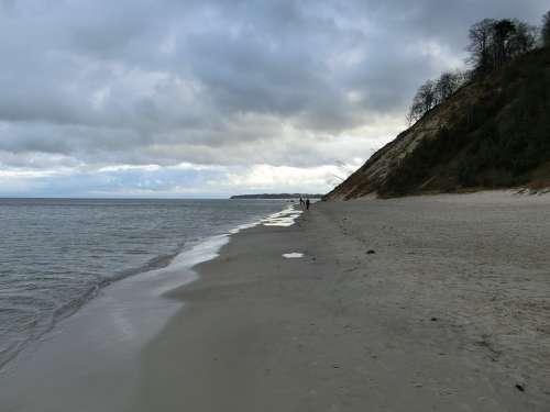 Sea Coast Baltic Sea Sand Sky