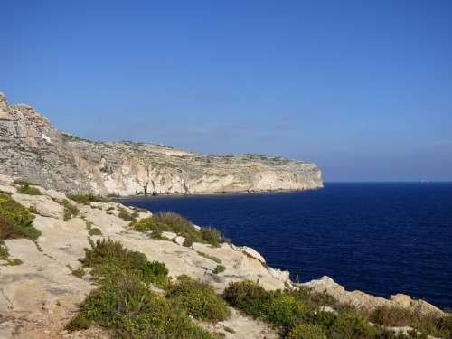Sea Sky Scenery Blue Sun Coast Island