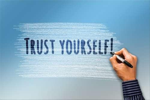 Self Confidence Trust Hand Pen Write Security