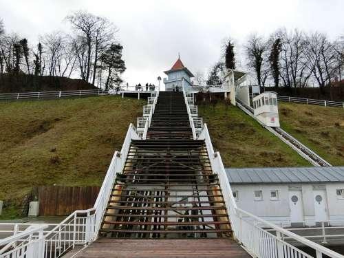 Sellin Stairs Rügen Baltic Sea