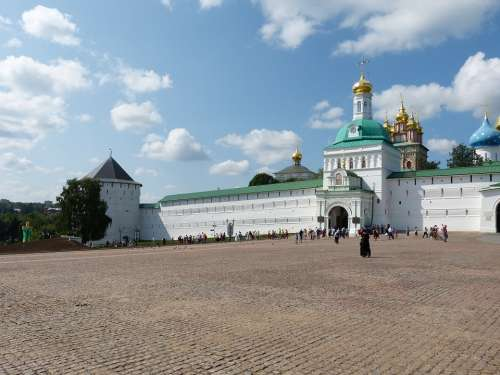 Sergiev Posad Russia Sagorsk Golden Ring Monastery