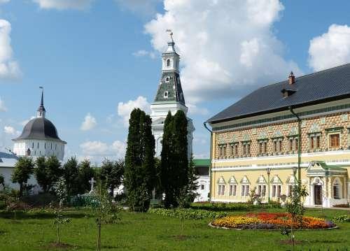 Sergiev Posad Russia Sagorsk Golden Ring Monastery