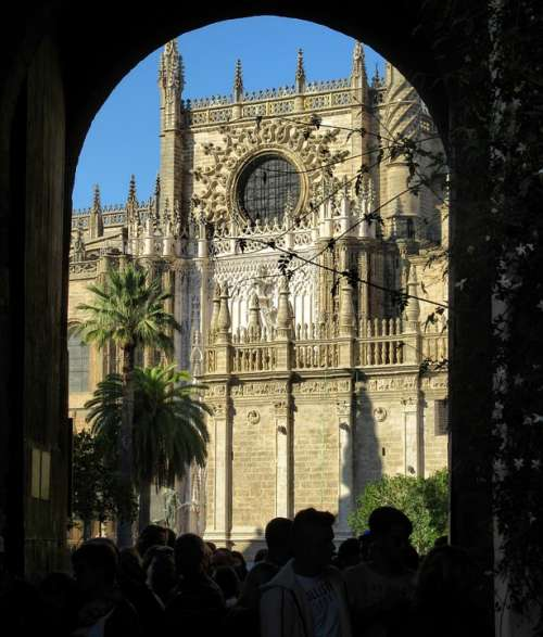 Seville Andalusia Spain Architecture City Building