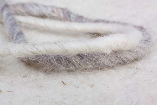Sheep'S Wool Sheep Wool-Felt Natural Fiber