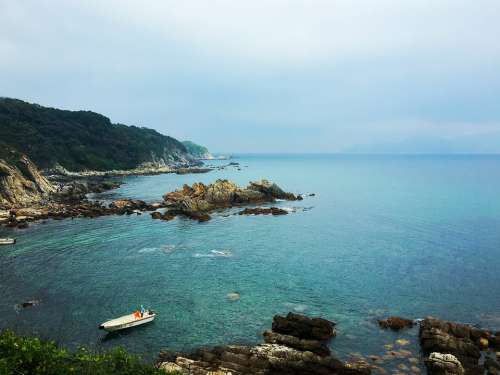 Shenzhen Beach Coastline The Scenery Outdoor