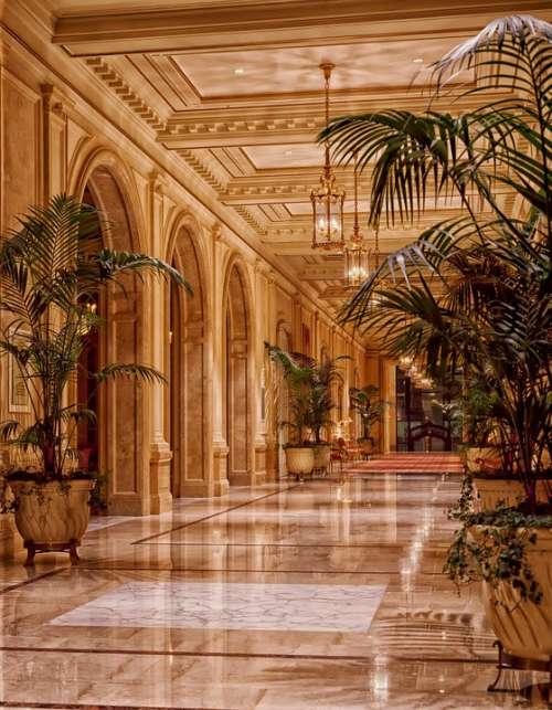 Sheraton Palace Hotel Lobby Architecture