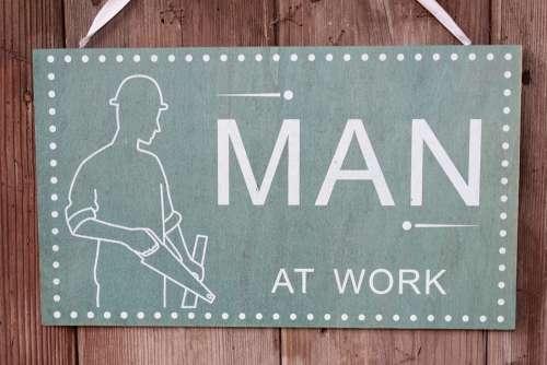 Shield Man Figure Work Tool