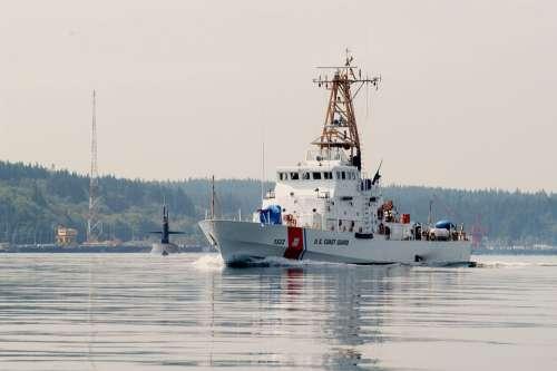 Ship Cutter Us Coast Guard Escort Submarine