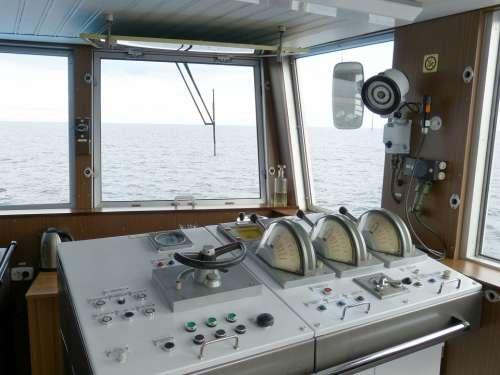Ship Bridge Cruise Control Cruise Ship Ship