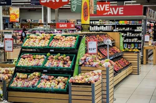 Shopping Supermarket Merchandising Store Shop Food