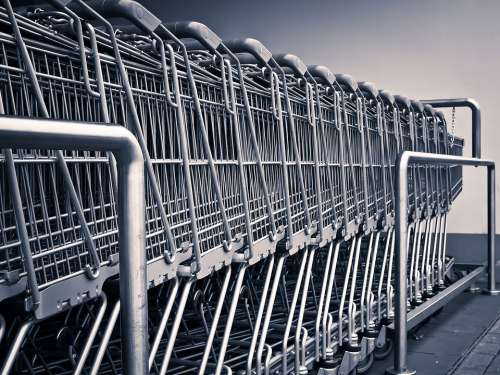Shopping Cart Shopping Supermarket Purchasing