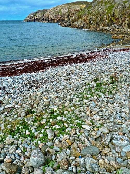 Shore Rocky Coast Beach Scenery