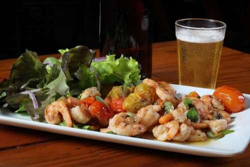 Shrimp Snack Beer