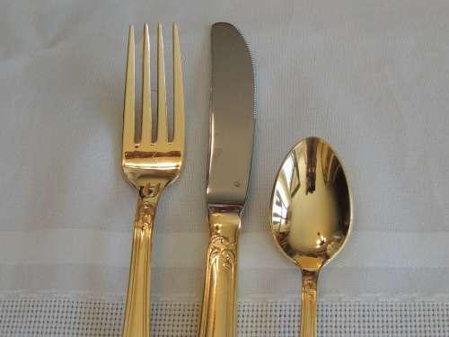 Silverware Fork Knife Cutlery