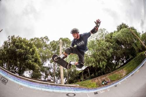 Skateboard Skater Smile