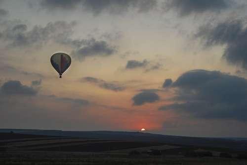 Sky Dark Balloon