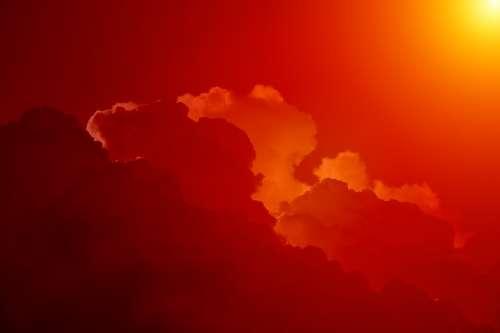 Sky Clouds Clouds Form Cumulus Clouds Beautiful