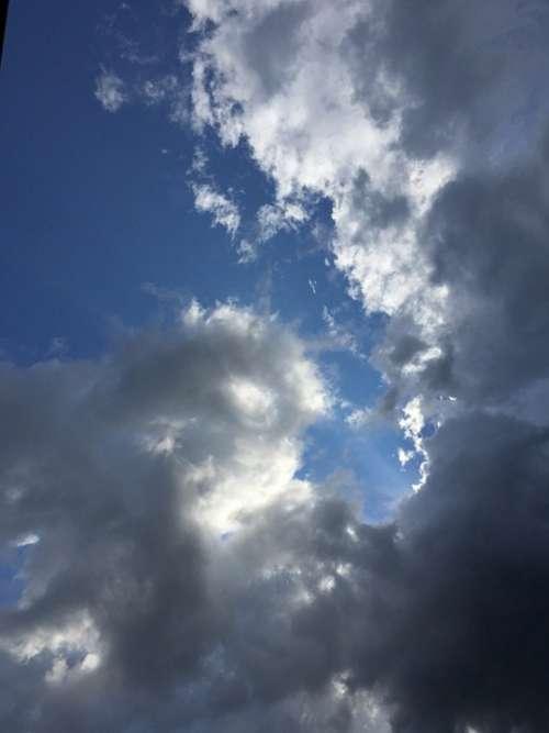 Sky Blue Sky White Cloud