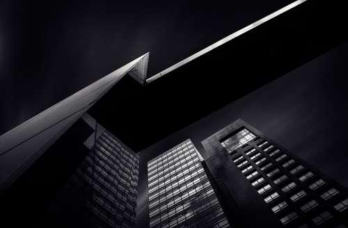 Skyscraper Facade Modern Contemporary Architecture