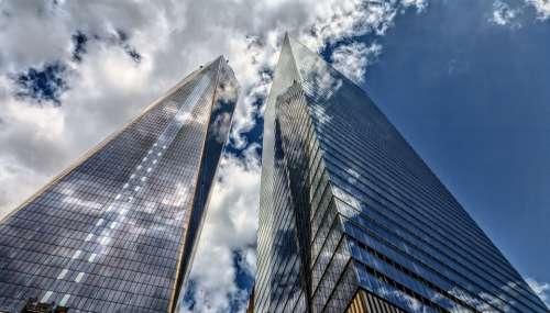Skyscraper Architecture City Sky New York Building