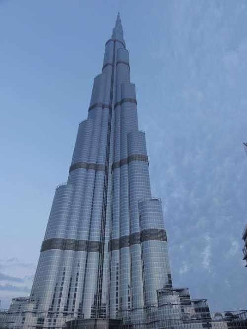Skyscraper Dubai Emirates Architecture Uae