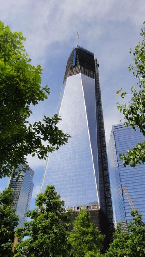 Skyscraper Building New York 1Wtc Wtc