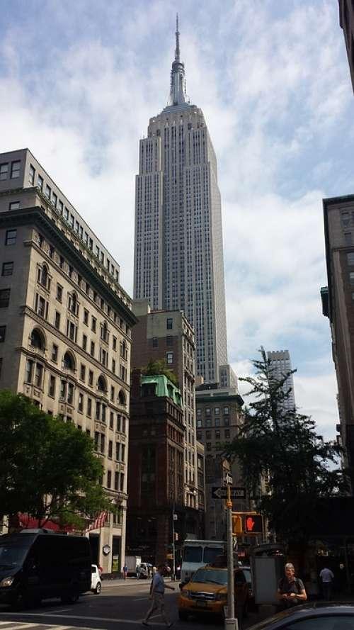 Skyscrapers Manhattan Nyc America