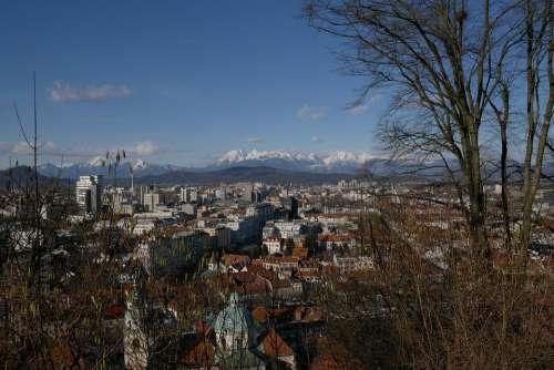 Slovenia Ljubljana City View