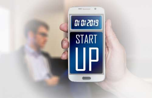 Smartphone Start Up Freelancer Company Start