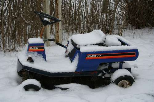 Snow Lawn Lawn Mowers Riding Mower Winter