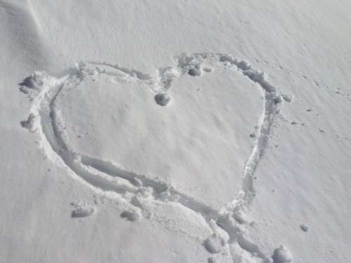 Snow Heart Love
