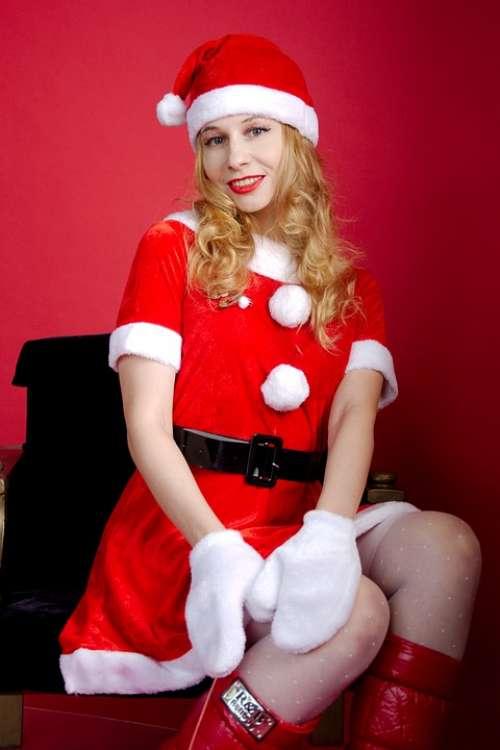 Snow Maiden New Year'S Eve Santa Claus Winter