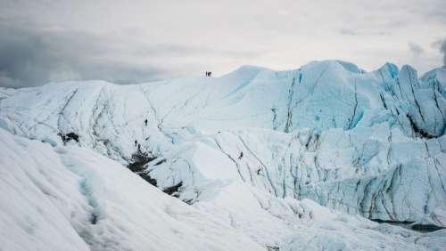 Snow Mountain Hiking Mountain Glacier Snow