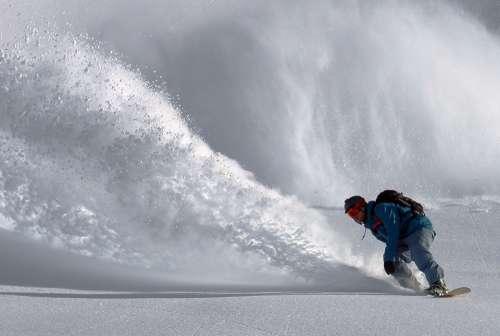Snowboarder Snowboarding Snowboard Snow Extreme
