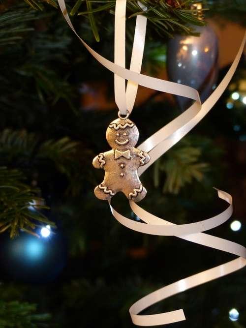 Snowman Gingerbread Maennele Decoration Christmas