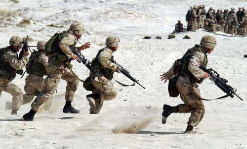 Soldiers Military Usa Weapons War Fight Defense